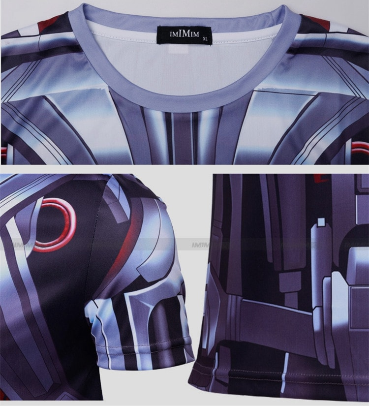 Ultron Compression Shirt - Novelty Force
