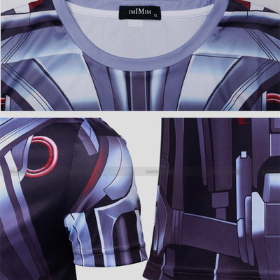 Ultron Long Sleeve Compression Shirt - magilook deep cleansing masks