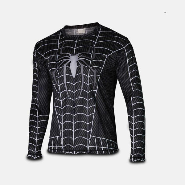 Spiderman 3 Long Sleeve Compression Shirt