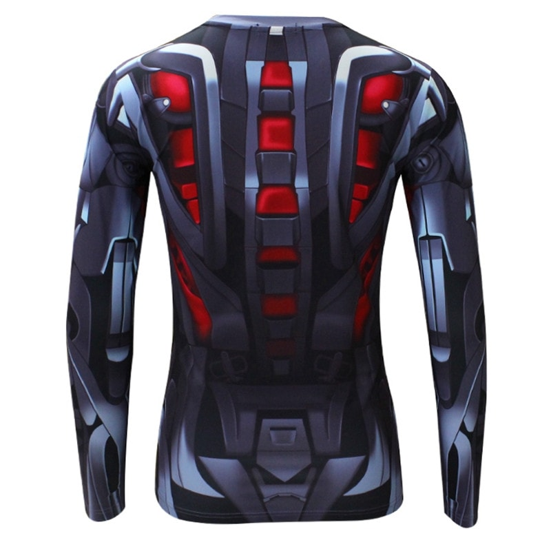 Ultron Long Sleeve Compression Shirt - Novelty Force