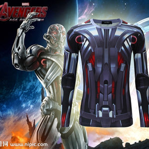 Ultron Long Sleeve Compression Shirt
