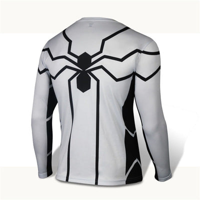 Future Spiderman Long Sleeve Compression Shirt - magilook deep cleansing masks