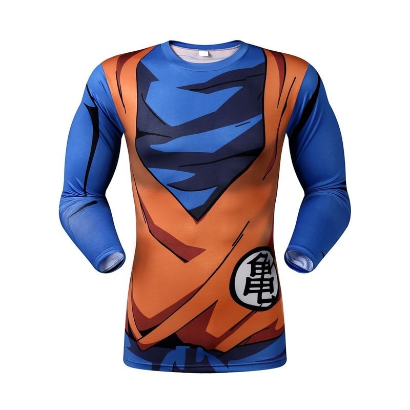 Goku Warrior Armor Long Sleeve Armor Shirt - Novelty Force