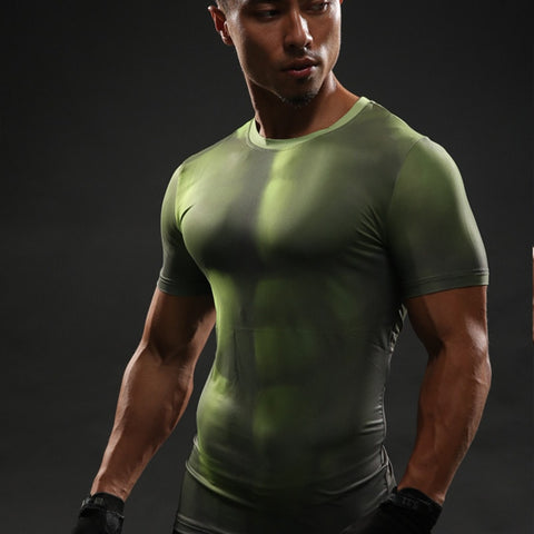 Hulk Dark Green Compression Shirt - Novelty Force