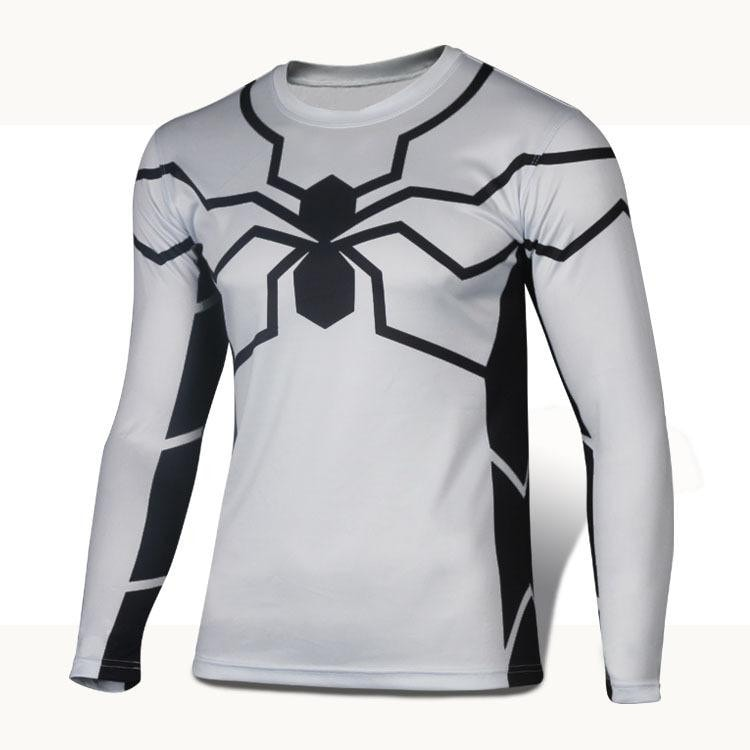 Future Spiderman Long Sleeve Compression Shirt - Novelty Force