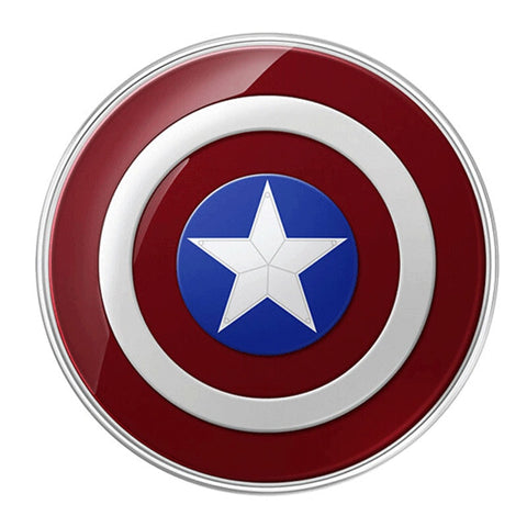 Captain America Qi Wireless Phone Charger Pad - Novelty Force