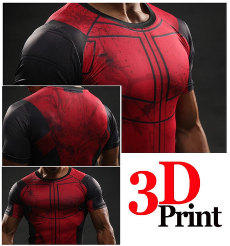 Deadpool Compression Shirt - Novelty Force