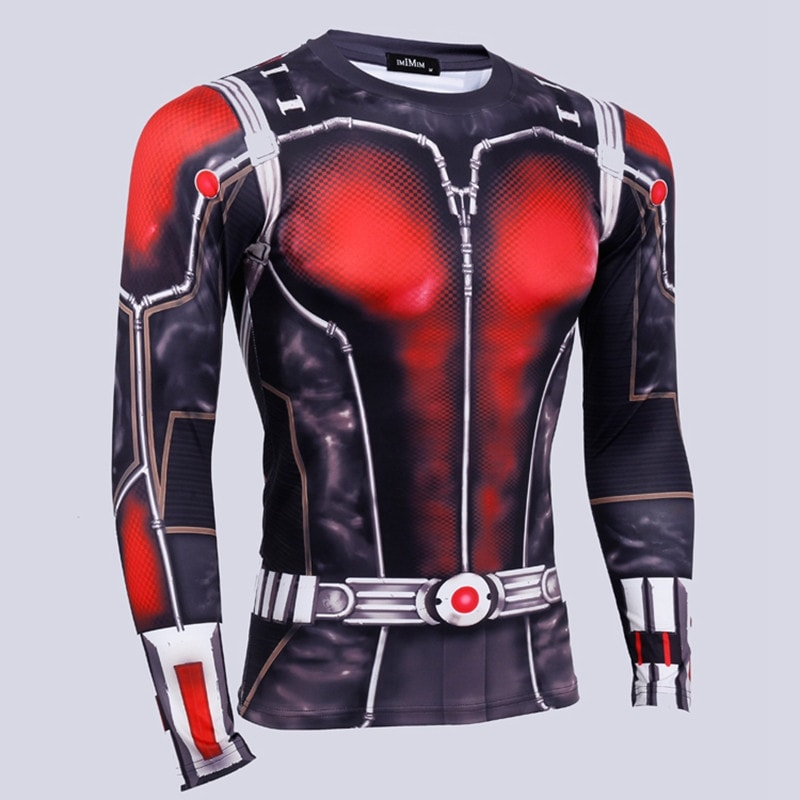 ANT Man Long Sleeve Compression Shirt - Novelty Force