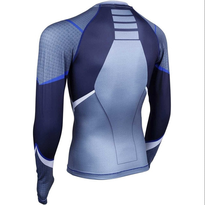Quicksilver Long Sleeve Compression Shirt