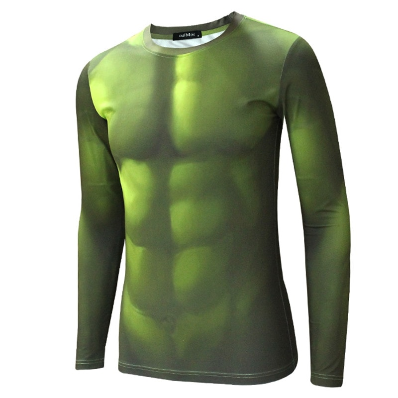 Hulk Long Sleeve Compression Shirt - Novelty Force