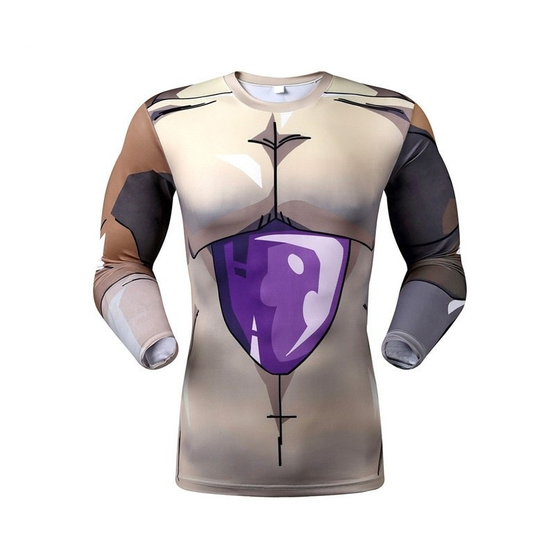 Golden Frieza Long Sleeve Armor Shirt - magilook deep cleansing masks