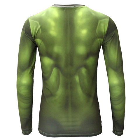 Hulk Long Sleeve Compression Shirt
