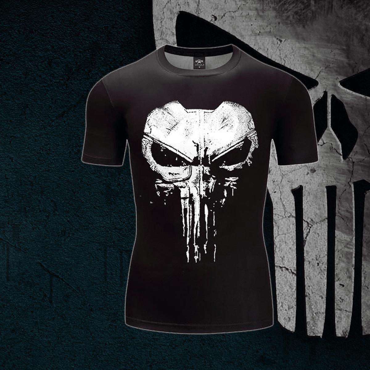 Punisher TV Series Compression Shirt