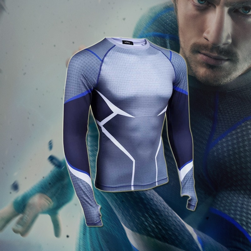 Quicksilver Long Sleeve Compression Shirt - Novelty Force