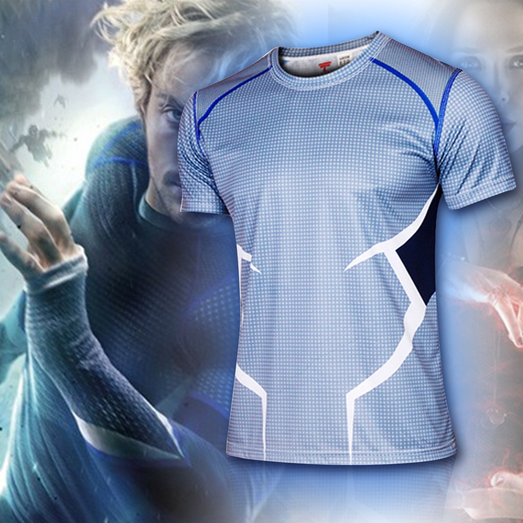 Quicksilver Compression Shirt - Novelty Force