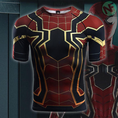 Spiderman Infinity War Compression Shirt