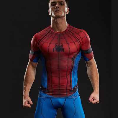 Spiderman Compression Shirt - magilook deep cleansing masks