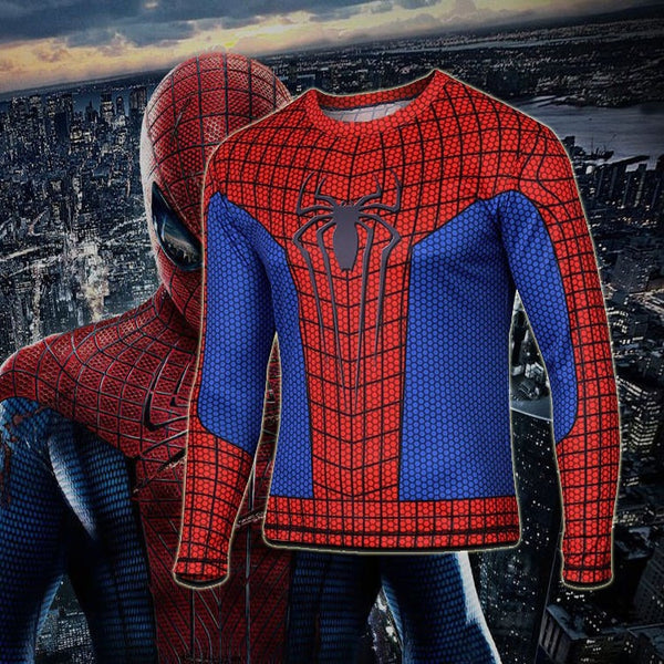 Spiderman 2 Long Sleeve Compression Shirt