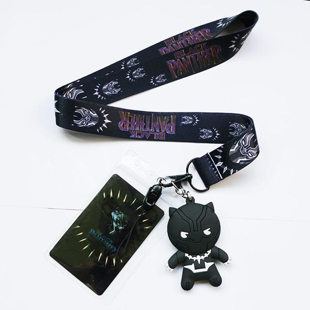 Black Panther Lanyard & Keychain - magilook deep cleansing masks