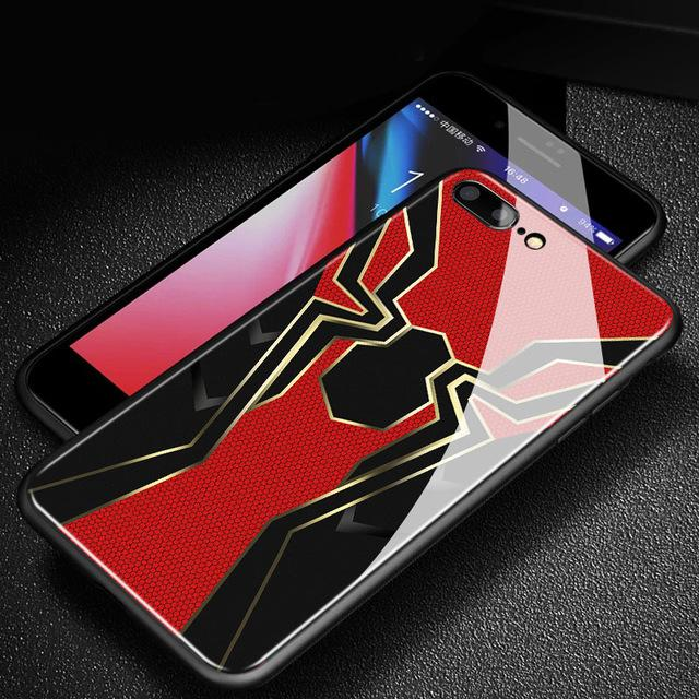 Iron Spiderman Gloss iPhone Case - magilook deep cleansing masks