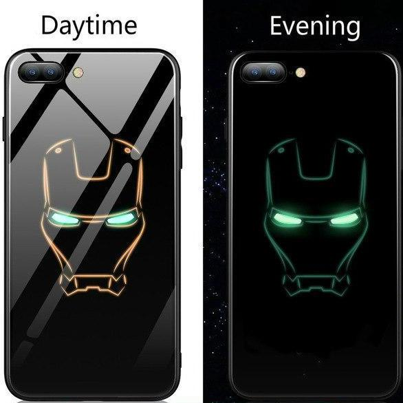 Iron Man Gloss iPhone Case