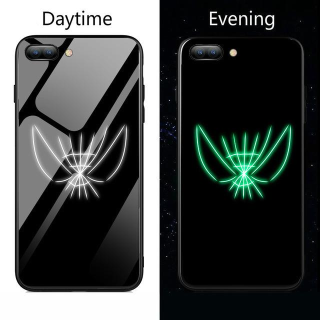 White Spiderman Gloss iPhone Case