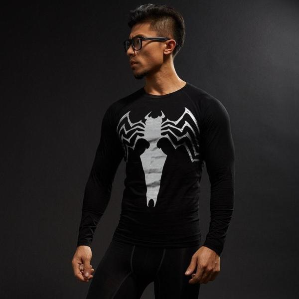 Venom Long Sleeve Compression Shirt - magilook deep cleansing masks