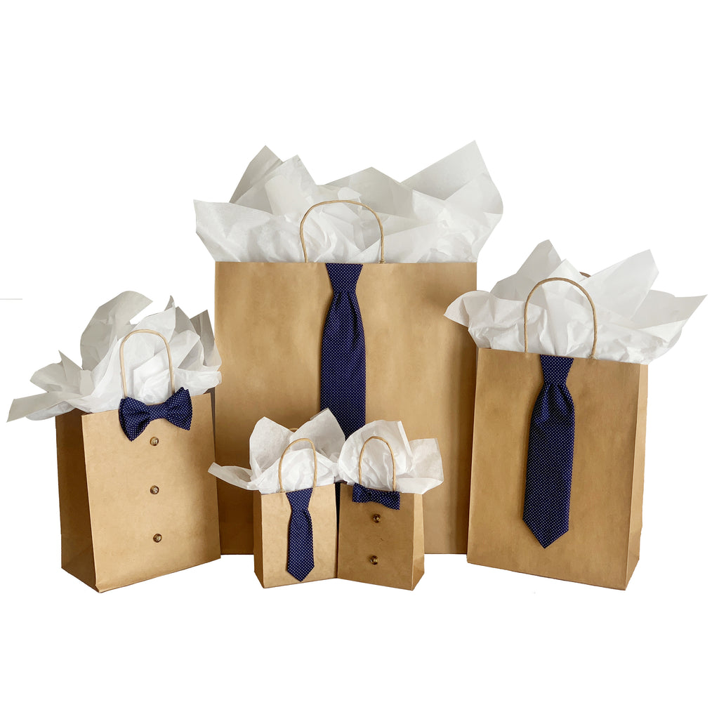 Navy Polka Dot 5 Piece Gift Kit