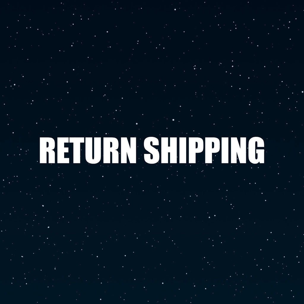 Return Shipping (insured) For Free Resizing & Cleanup