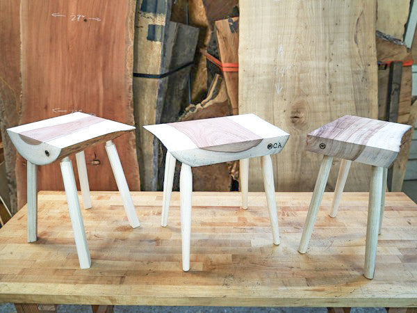 Youth Woodworking Classes: Four-Legged Stool at Allied Woodshop, Los Angeles California