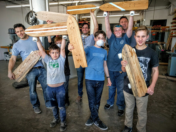 Youth Woodworking: Skateboard - Private Class
