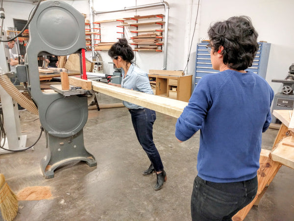 Intermediate Furniture Making Classes at Allied Woodshop, Los Angeles, California