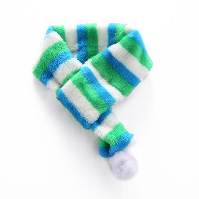 Paw Prime blue / S Christmas Winter Dog Scarf