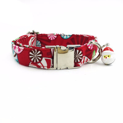 Paw Prime Candy Cane / XS Winter Collar Collection
