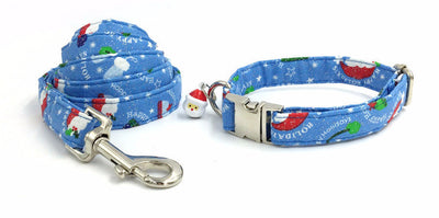 Paw Prime collar and leash / XS The Santa Hat