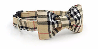 Paw Prime collar bow / XS The Plaid Collection