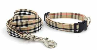 Paw Prime collar  leash / XS The Plaid Collection