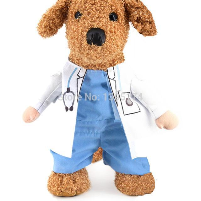 Paw Prime Doctor Suit Costume