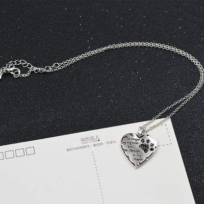Paw Prime Forever in my heart Necklace