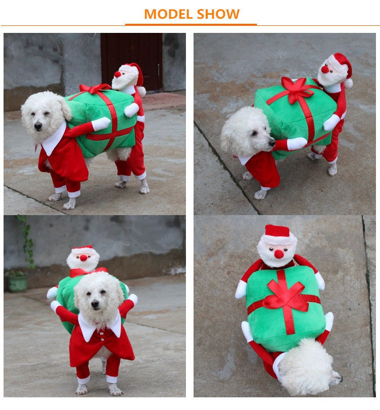 Paw Prime as shown / S Funny Christmas Dog Costume