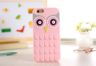 Paw Prime Pink / For iPhone 4 4S Owl iPhone Case