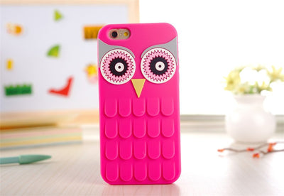 Paw Prime Rose / For iPhone 4 4S Owl iPhone Case