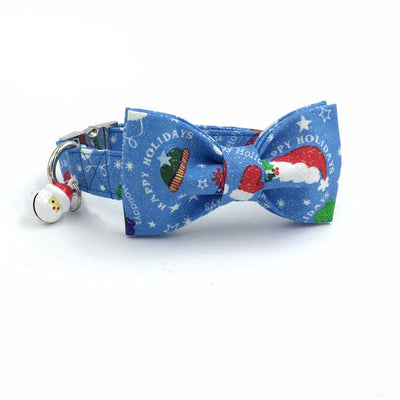 Paw Prime Santa With Bow / XS Winter Collar Collection