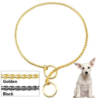 Paw Prime Snake Chain Dog Collar