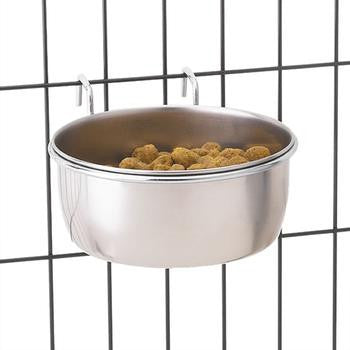 Paw Prime Stainless Steel Hanging Pet Bowl