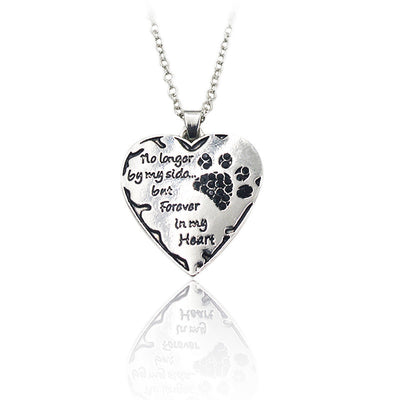 Paw Prime style 3 Forever in my heart Necklace