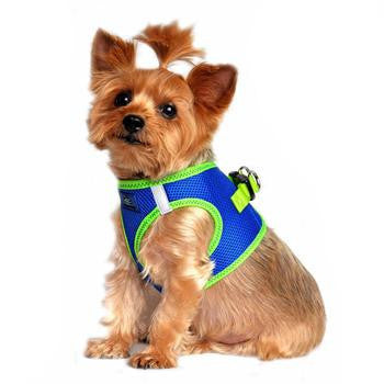 Paw Prime Top Stitch Dog Harness - Cobalt Blue