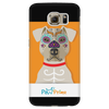 teelaunch Phone Cases Galaxy S6 Colorful Pit Bull Phone Case