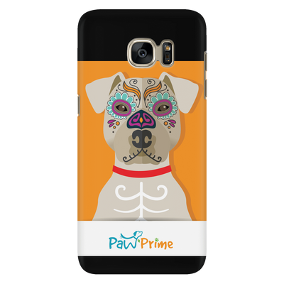 teelaunch Phone Cases Galaxy S7 Colorful Pit Bull Phone Case