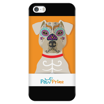 teelaunch Phone Cases iPhone 5/5s Colorful Pit Bull Phone Case